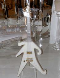 Single Axe Milk Guitar