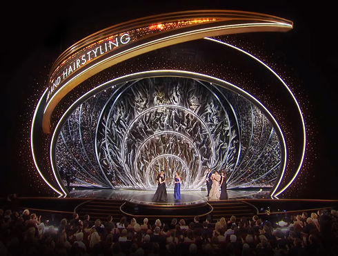 The Oscars 2020 Stage Build Hair and Mak
