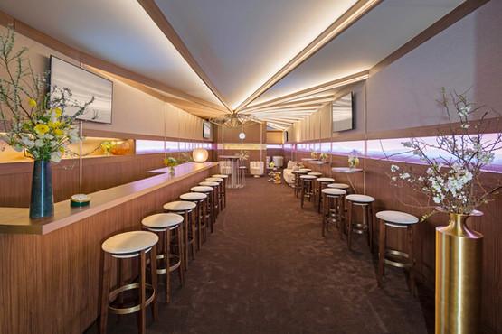ROLEX Green Room Bar Area