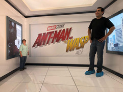 Ant Man Ames Room