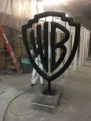 Warner Brothers Chrome Sculpture