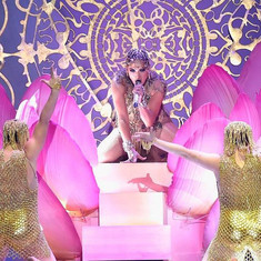 Lotus Flower Jennifer Lopez Latin Billboard Music Awards 2018