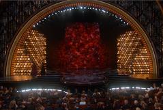 Oscar's Rose Curtain 2014