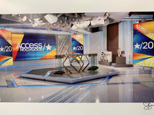 Access Hollywood Set at Universal