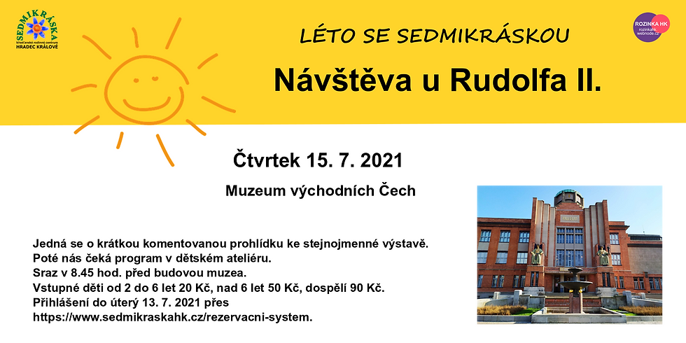 Muzeum východních Čech – Návštěva u Rudolfa II.