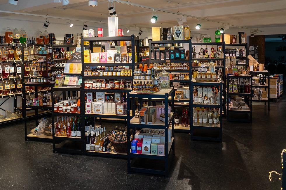 Blick in das Ladenlokal