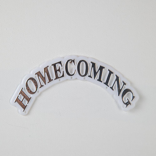 Homecoming arch-silver