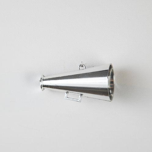 Megaphone-silver