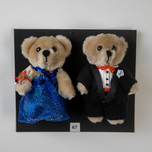 Couple Bear Blue