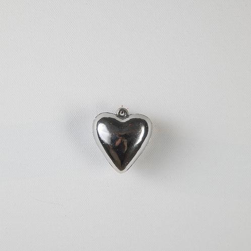 Puff Heart-silver