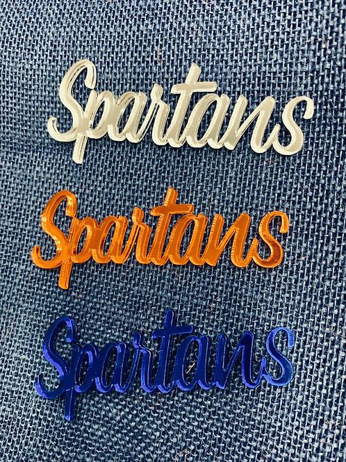 "Acrylic ""Spartans"""
