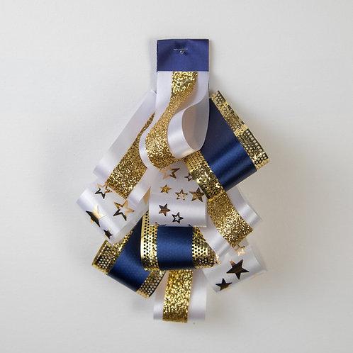 Loop Chain Navy Gold White