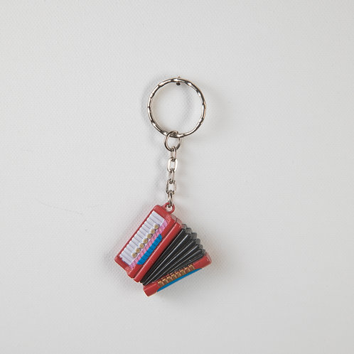 Accordion keychain