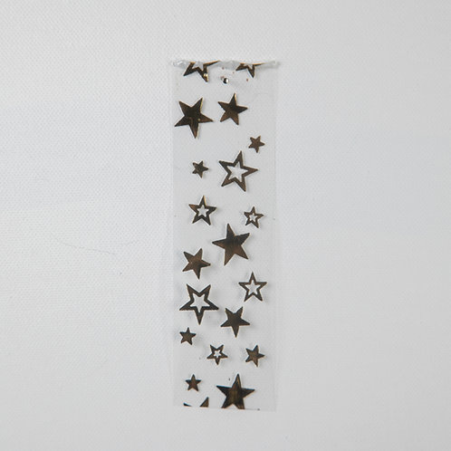 Scattered Stars clear& gold