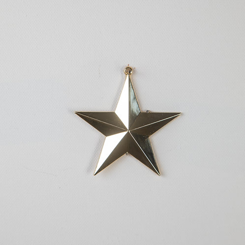 Star Solid-gold large (Seniors Only)