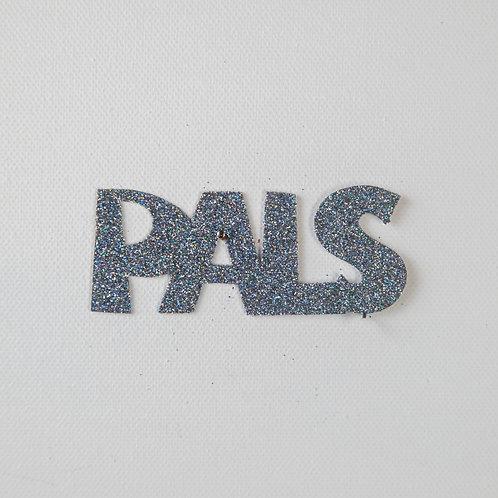 Flat Glitter-PALS-silver