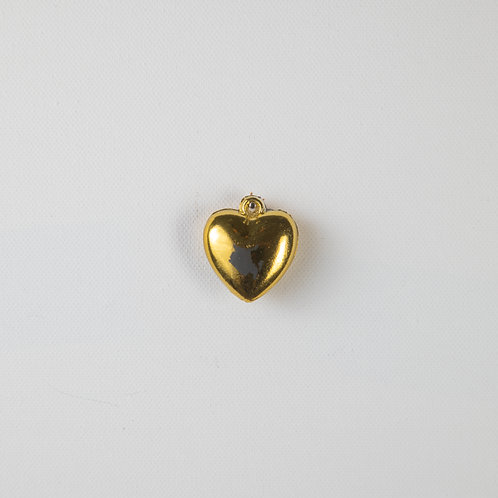 Puff Heart-gold