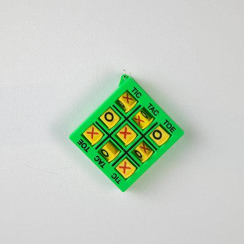 Tic Tac Toe keychain