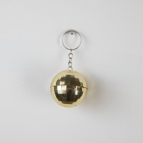 Disco Ball Keychain-gold (Seniors only)