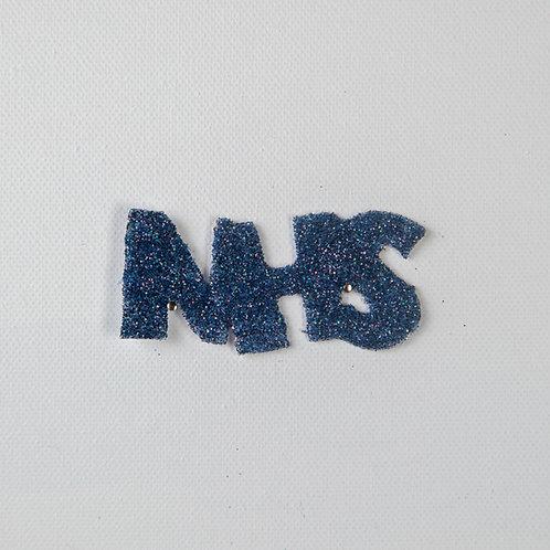 Flat Glitter-NHS-navy