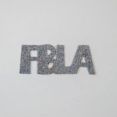 Flat Glitter-FBLA-silver