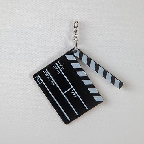 Director's Clapboard Keychain