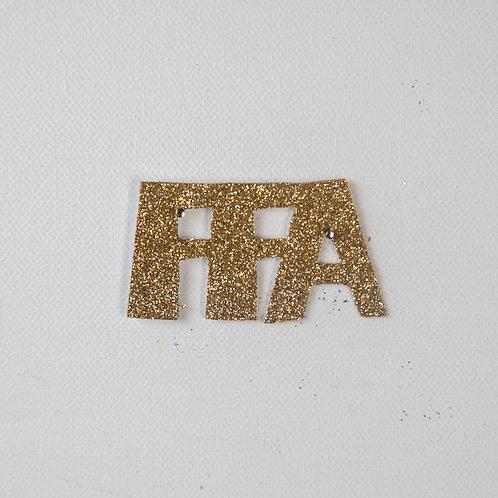 Flat Glitter-FFA-gold