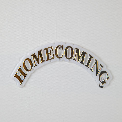 Homecoming arch-gold