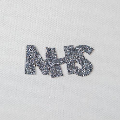 Flat Glitter-NHS-silver