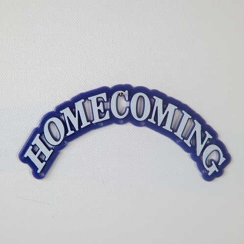Homecoming arch-navy