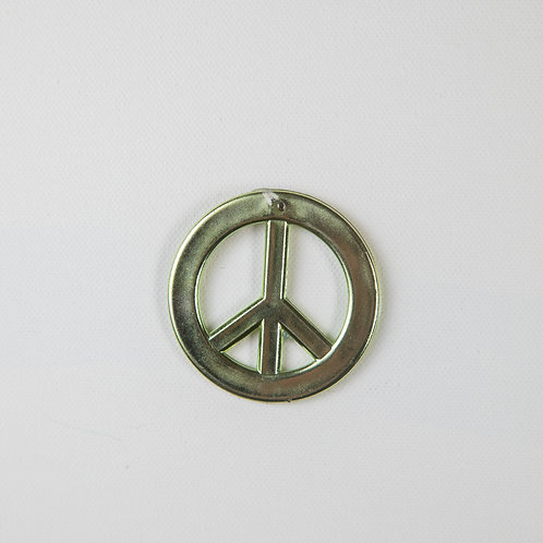 Peace Symbol-gold (Seniors only)