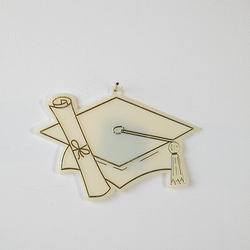 Graduation Cap-gold