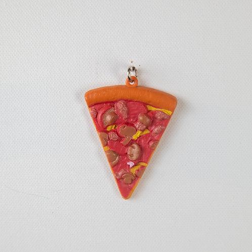 Pizza Slice Keychain-assorted
