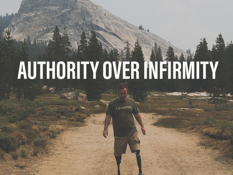 Authority Over Infirmity
