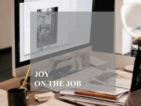 Joy on the Job