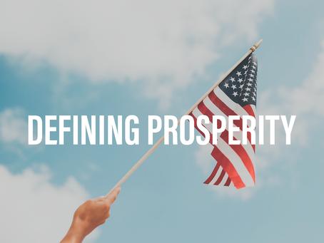 Defining Prosperity