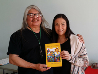 """Leading Spirits from the Inaugural """"Nishinaabe Cultural Grief Workshop"""" May  7-8, 2018, To"""