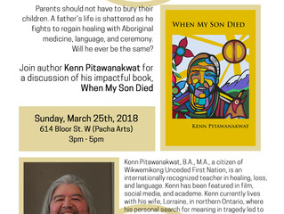 Pacha Arts Hosts Kenn Pitawanakwat: Indigenous Author Meet and Greet