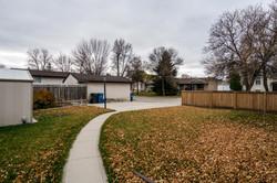 large yard