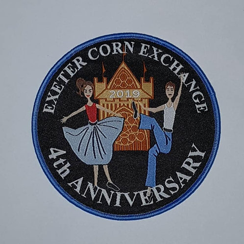 4th ANNIVERSARY EMBROIDERED PATCH