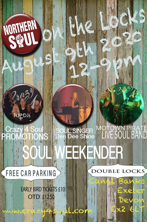 """SOUL ON THE LOCKS"" - SOUL FESTIVAL SUN 8th AUGUST 2021"