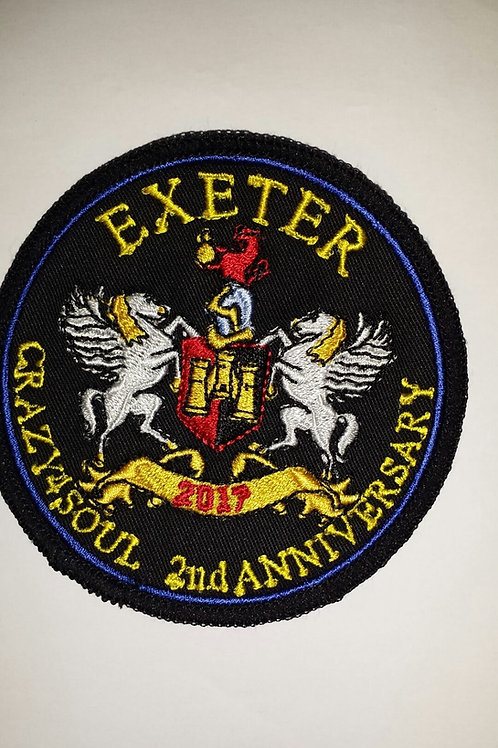2nd ANNIVERSARY EMBROIDERED PATCH