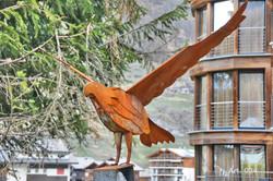 Skulptur Adler