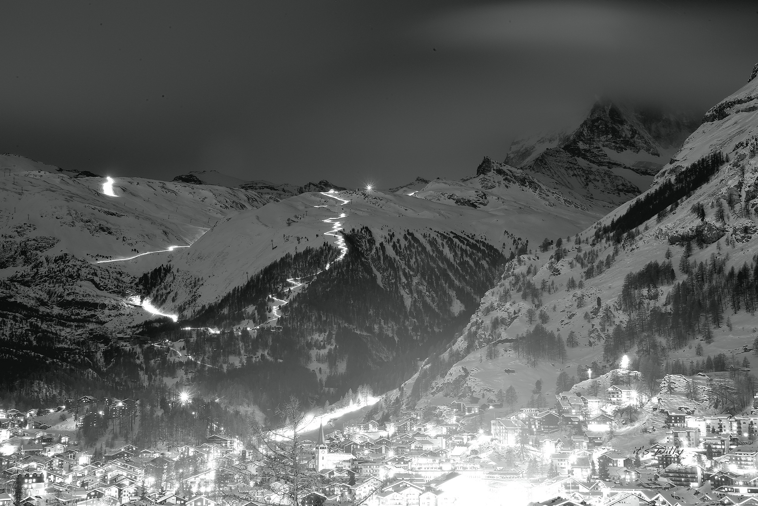 Zermatt Night