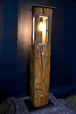 Altholz Lampe