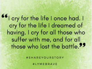 Lyme Awareness Month, Day Fifteen: Some Days, I Cry