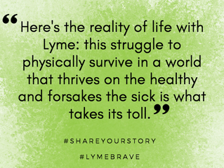 Lyme Awareness Month, Day Eight: Nevertheless, We Survive