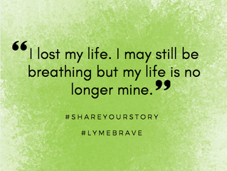 Lyme Awareness Month, Day Eleven: Why I Get to Feel Sorry For Myself