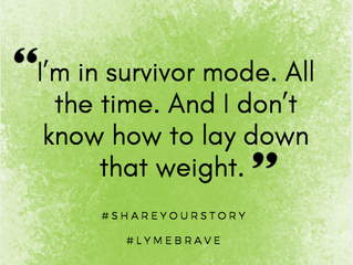 Lyme Awareness Month, Day Five: Lyme Me vs. Real Me