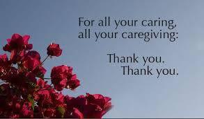 Lyme Awareness Month, Day Thirteen: Thank You Caregivers!